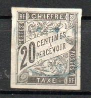 Col24 Colonies Générales Taxe N° 8 Oblitéré Cote 13,00 Euro - Portomarken