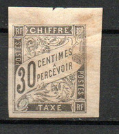 Col24 Colonies Générales Taxe N° 9 Neuf X MH Cote 22,00 Euro - Portomarken
