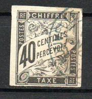 Col24 Colonies Générales Taxe N° 10 Oblitéré Cote 11,00 Euro - Portomarken
