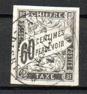 Col24 Colonies Générales Taxe N° 11 Oblitéré Cote 22,00 Euro - Portomarken