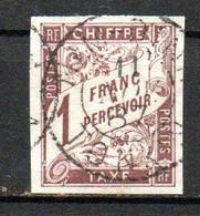 Col24 Colonies Générales Taxe N° 15 Oblitéré Cote 45,00 Euro - Portomarken