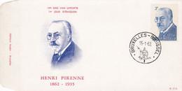 Enveloppe FDC 1240 Henri Pirenne - 1961-70