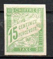 Col24 Colonies Générales Taxe N° 20 Neuf X MH Cote 2,25 Euro - Portomarken
