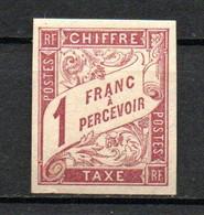 Col24 Colonies Générales Taxe N° 26 Neuf X MH Cote 11,00 Euro - Portomarken