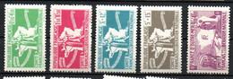Col24 Colonies Générales Locale N° 1 à 5 Neuf X MH Cote 7,50 Euro - Portomarken