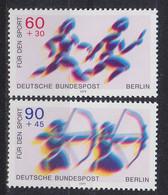 GERMANY BERLIN [1979] MiNr 0596-97 ( **/mnh ) Sport - Ungebraucht