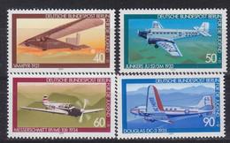 GERMANY BERLIN [1979] MiNr 0592-95 ( **/mnh ) Flugzeuge - Ungebraucht