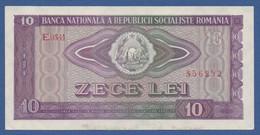 ROMANIA -Banca Naţională A Republicii Socialiste România - P.94 – 10 Lei1966 AUNC- Serie E.0341 856252 - Romania