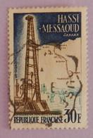 "FRANCE YT 1205  BELLE OBLITERATION  ""HASSI-MESSAOUD"" ANNÉE 1959 - Gebraucht"