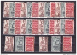 España Nº 1250 Al 1252 - 10 Series - 1951-60 Neufs