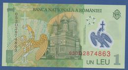 ROMANIA - P.117a – 1 LEU 2005 (2005) UNC Serie 053D2874863 - Romania