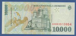 ROMANIA - P.108a – 10.000 LEI 1999 UNC Serie 006B3513954 - Romania