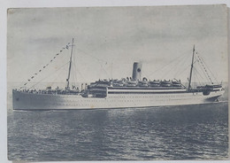 06720 Cartolina - T/s Brasil - Mediterraneo Sud America Navigazione - Dampfer