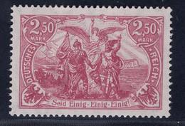 Deutsches Reich Michel Nr. 115 E Postfrisch Geprüft - Ohne Zuordnung
