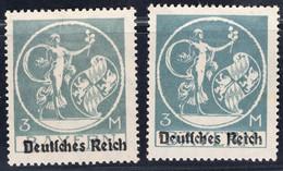 Deutsches Reich Michel Nr. 134 I Postfrisch - Ohne Zuordnung