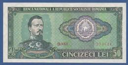 ROMANIA -Banca Naţională A Republicii Socialiste România - P.96 – 50 Lei1966 UNC-  Serie B.0063 293621 - Romania