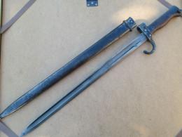 BAIONNETTE ET SON FOURREAU MILITAIRE GUERRE 1914 1918 - Knives/Swords