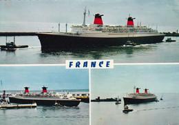 """Le """" FRANCE """" - Dampfer"""
