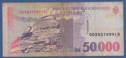 ROMANIA - P.109 – 50.000 LEI 1996 Circulated / Serie 003B3709915 - Romania