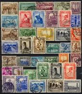 PERÚ , LOTE DE SELLOS USADOS # 15 , CORREO , ARQUITECTURA , HISTORIA , INDÍGENAS , ARTE PRECOLOMBINO , FAUNA - Peru