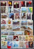 PERÚ , LOTE DE SELLOS USADOS # 11 , FLORA , CACTUS , DESARROLLO , ESCUDOS , HISTORIA , ARQUITECTURA , OLIMPIADAS - Peru
