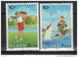 Aland 1995 N°102/103 Neufs Norden Tourisme - Ålandinseln