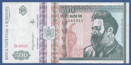 ROMANIA - P.101a – 500 LEI  12-1992 VF Serie D.0010 541311 - Romania