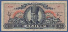 ROMANIA - P.85a – 1.000 LEI  18.06.1948 Circulated Serie F.3488 0105 - Romania