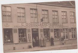 Veurne - Kruidenierswaren Dobbelaere-Cornille (gelopen Kaart Zonder Zegel) - Veurne
