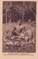 CAMBODGE  - RUINE D'ANGKOR  Statue - Cambodia