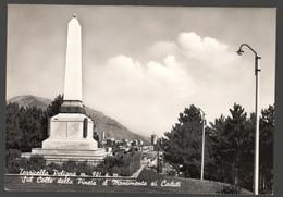 TORRICELLA PELIGNA - CHIETI - ANNI 50 - SUL COLLE DELLA PINETA IL MONUMENTO AI CADUTI - Monumenti Ai Caduti