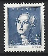 Timbre France En Neuf ** N 581 - Ungebraucht