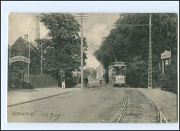 S2814/ Bröndshoj Straßenbahn Dänemark AK 1907 - Denmark