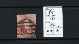 N° 8A, 40c Rouge-carmin. - 1851-1857 Médaillons (6/8)  102. - 1851-1857 Médaillons (6/8)
