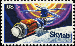 1974 10 Cents Space Skylab, Mint Never Hinged - Ungebraucht