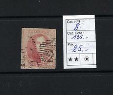 N° 8, 40c Rouge-carmin. - 1851-1857 Médaillons (6/8) - 1851-1857 Médaillons (6/8)