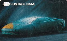 GERMANY(chip) - Car, Control Data(K 208), Tirage 2000, 03/94, Used - Cars