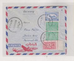 SAUDI ARABIA RIYADH  Airmail Cover To Germany - Arabia Saudita