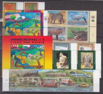 UNO WIEN Jahrgang 1997, Postfrisch **, Komplett Mi. 220-239 (ohne Heftchenmarken) - Ungebraucht