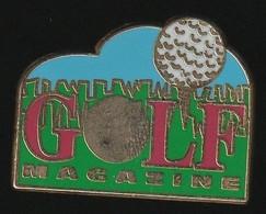 72962-Pin's.magazine Golf.Presse.signé Coinderoux Corner. - Golf