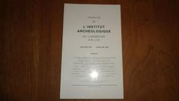 ANNALES INSTITUT ARCHEOLOGIQUE DU LUXEMBOURG ARLON 1981 1982 Régionalisme Métrologie De Vance Honderlange Neufchâteau - Belgien