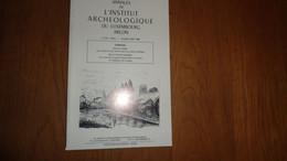 ANNALES INSTITUT ARCHEOLOGIQUE DU LUXEMBOURG ARLON 1985 1986 Régionalisme Conscrits Etalle Picard Explorateur Brésil - Belgien