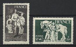 Timbre France En Neuf ** N 585/586 - Ungebraucht