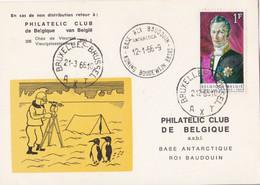 Base Antarctique - Base Roi Baudouin / Koning Boudewijn Basis 2-12-66 - Zonder Classificatie