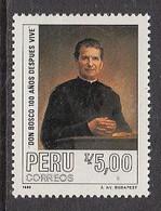 1988 Peru John Bosco  Complete Set Of 1 MNH - Peru