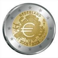 @Y@  Nederland  2 Euro  Com.   10 Jaar Euro  2002-2012 - Niederlande
