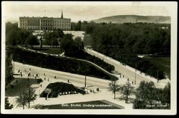 Oslo Slottet Undergrundsbanen Enerett Gran 1935 - Norway