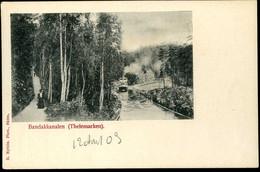 Bandakkanalen Thelemarken 1903 Nyblin - Norway