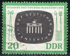A07-17-4) DDR - Mi 923 ⨀ - 20Pf  10 Jahre Deutscher Fernsehfunk - Gebraucht