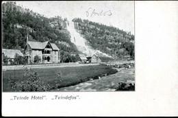 Tvindefos Tvinde Hotel 1903 - Norway